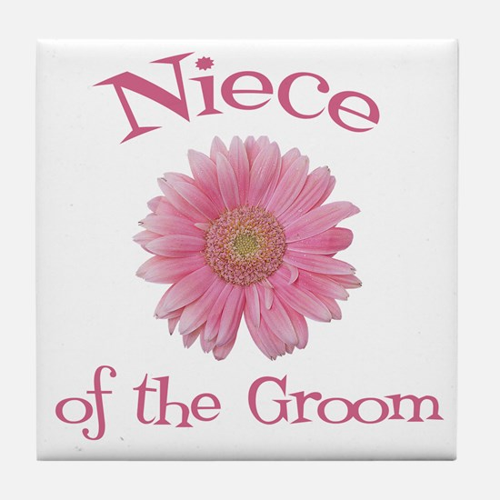 Daisy Groom's Niece Tile Coaster