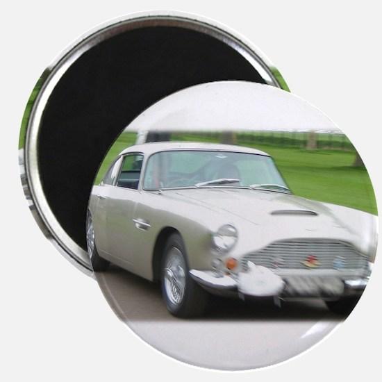 Funny Aston martin Magnet