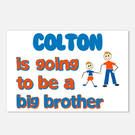Colton - Going to be a Big Br Postcards (Package o