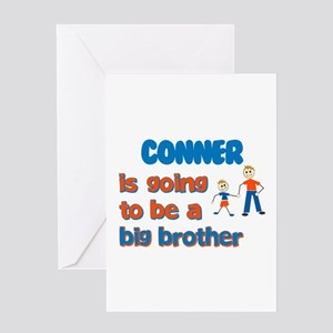Conner - Going to be a Big Br Greeting Card