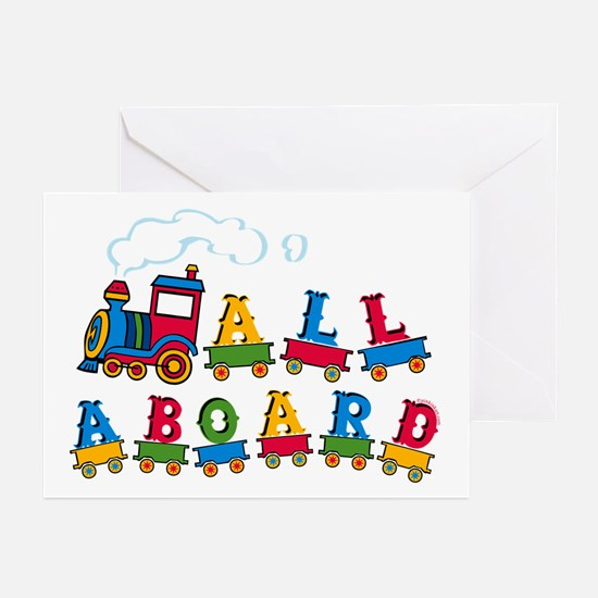 All Aboard Greeting Cards (Pk of 10)