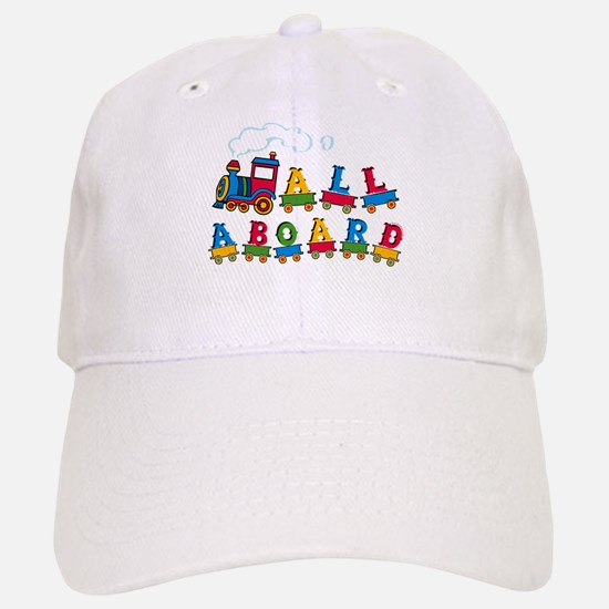All Aboard Baseball Baseball Cap