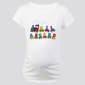 All Aboard Maternity T-Shirt