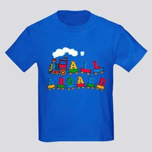All Aboard Kids Dark T-Shirt