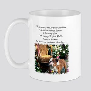 English Bulldog Art Mug