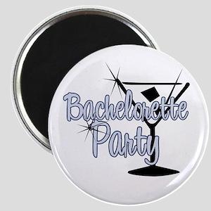 Blue Martini Bachelorette Par Magnet