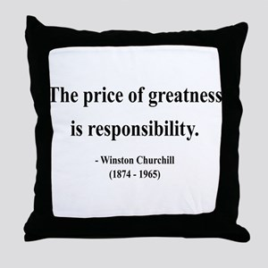 Winston Churchill 18 Throw Pillow