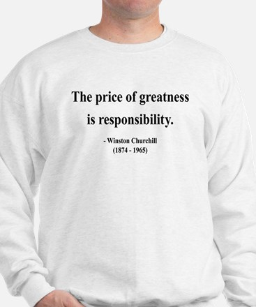 Winston Churchill 18 Sweatshirt
