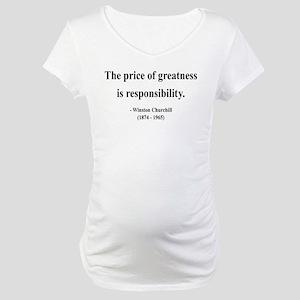 Winston Churchill 18 Maternity T-Shirt