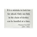 Winston Churchill 19 Rectangle Magnet
