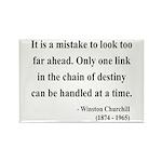 Winston Churchill 19 Rectangle Magnet (10 pack)