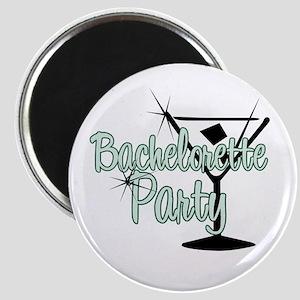 Green Martini Bachelorette Party Magnet