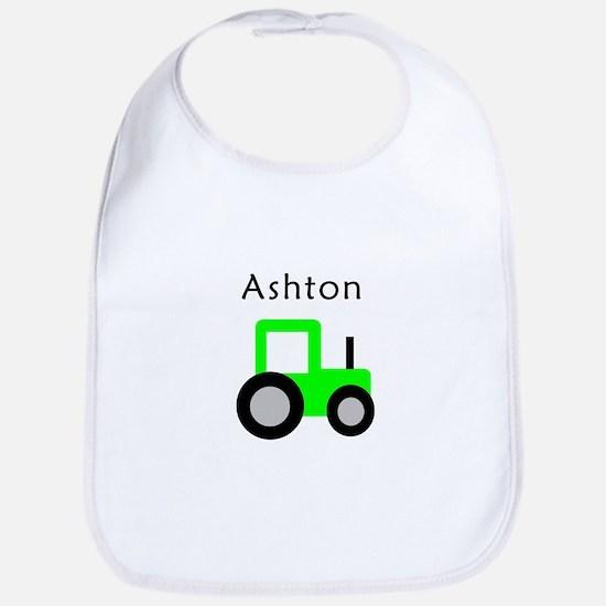 Ashton - Lime Tractor Bib