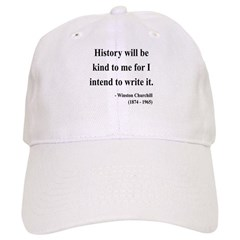 Winston Churchill 20 Baseball Cap