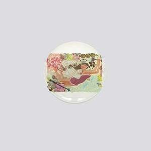 Flying Queen Mini Button