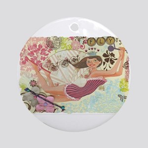 Flying Queen Ornament (Round)