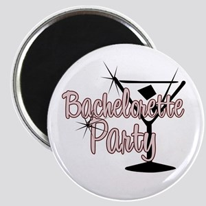 Red Martini Bachelorette Part Magnet