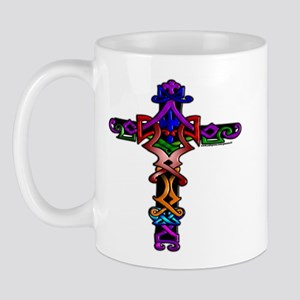 Colored Cross Mug