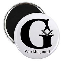 The Reversed Masonic G Magnet