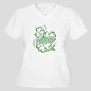 Iyana Women's Plus Size V-Neck T-Shirt