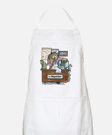 School Bus Dispatcher Female BBQ Apron