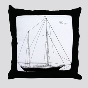 C.Lee Clippers Throw Pillow