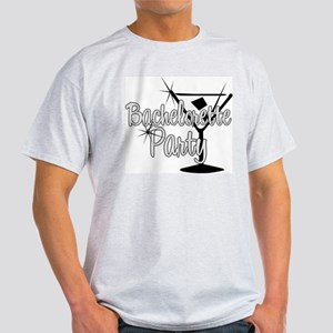 Black & White Martini Bachelo Light T-Shirt