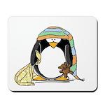 Bedtime Penguin Mousepad
