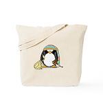 Bedtime Penguin Tote Bag