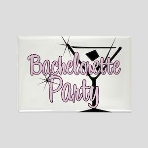 Pink Martini Bachelorette Par Rectangle Magnet