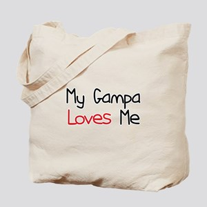 My Gampa Loves Me Tote Bag