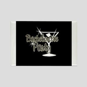 Yellow Martini Bachelorette P Rectangle Magnet