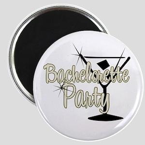 Yellow Martini Bachelorette P Magnet