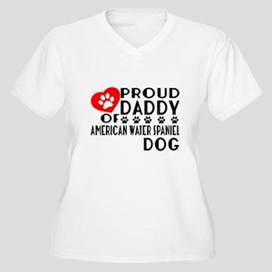 Proud Daddy Of Am Women's Plus Size V-Neck T-Shirt