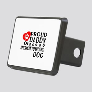 Proud Daddy Of American fo Rectangular Hitch Cover