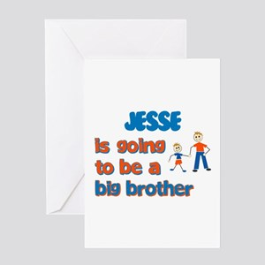 Jesse - Going to be a Big Bro Greeting Card