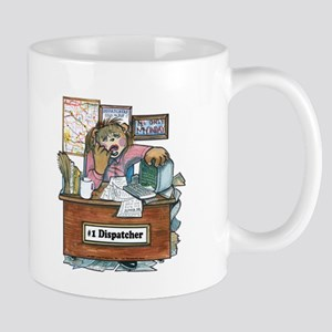 School Bus Dispatcher Female Mug