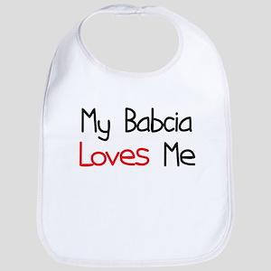 My Babcia Loves Me Bib