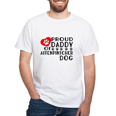 Proud Daddy Of Affenpinsche Men's Classic T-Shirts