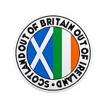 """Scotland-Britain-Ireland 3.5"""" Button"""