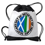 Scotland-Britain-Ireland Drawstring Bag