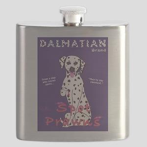 Dalmatian Spot Prawns Flask