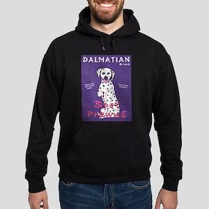 Dalmatian Spot Prawns Hoodie (dark)