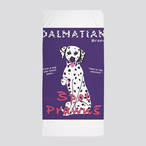 Dalmatian Spot Prawns Beach Towel