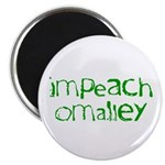 """Impeach O'Malley 2.25"""" Magnet (100 pack)"""