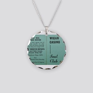 wigan casino NORTHERN SOUL Necklace Circle Charm