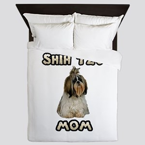 Shih Tzu Mom Queen Duvet