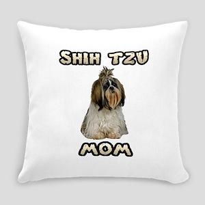 Shih Tzu Mom Everyday Pillow