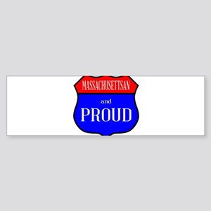 Massachusettsan And Proud Bumper Sticker