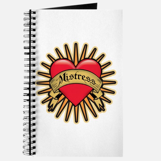 Mistress Heart Tattoo Journal